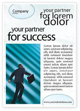 Careers/Industry: Plantilla de publicidad - escalada profesional #02346