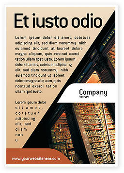 Education & Training: Book Shelf Ad Template #02347