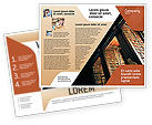 Education & Training: Modello Brochure - Scaffale #02347