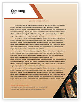 Education & Training: Book Shelf Letterhead Template #02347