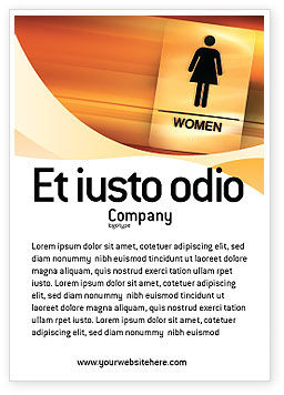Icon Women Ad Template