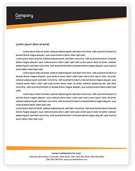 Cars/Transportation: Car On Highway Letterhead Template #02358