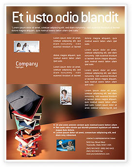 Education & Training: Akademische studien Flyer Vorlage #02359
