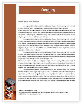 Academic Studies Letterhead Template, 02359, Education & Training — PoweredTemplate.com
