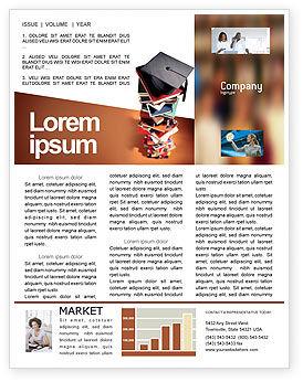 Education & Training: Modèle de Newsletter de des études académiques #02359
