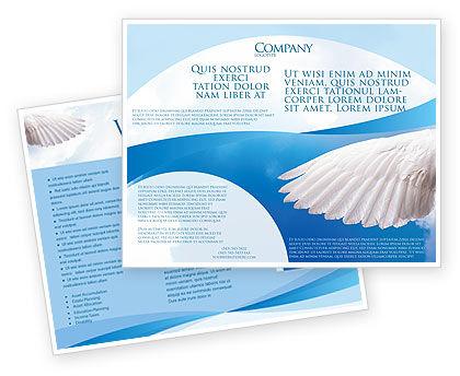 Holy Spirit Brochure Template, 02361, Religious/Spiritual — PoweredTemplate.com