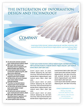 Religious/Spiritual: Holy Spirit Flyer Template #02361