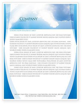 Religious/Spiritual: Holy Spirit Letterhead Template #02361