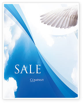 Holy Spirit Sale Poster Template, 02361, Religious/Spiritual — PoweredTemplate.com
