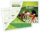 People: Family Picnic Brochure Template #02364