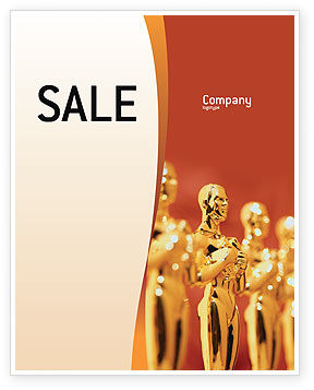 Art & Entertainment: Movie Award Sale Poster Template #02371