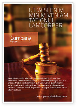 Legal: Juridical Ad Template #02373