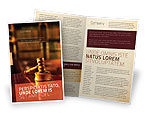 Legal: Juridisch Brochure Template #02373