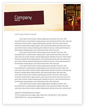 Juridical Letterhead Template