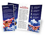 America: Children Of The USA Brochure Template #02377