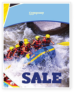 Sports: Modello Poster - Rafting #02380