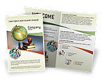 Education & Training: Task Brochure Template #02383