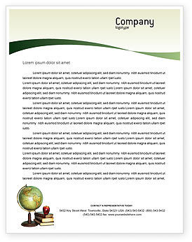 Task Letterhead Template, 02383, Education & Training — PoweredTemplate.com