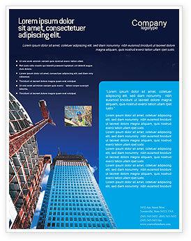 Construction: Plantilla de volante - empresa de construcción #02402