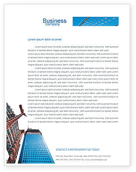 Building company letterhead template layout for microsoft word building company letterhead template 02402 construction poweredtemplate thecheapjerseys Choice Image