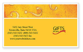 Business Concepts: Question Mark In Quiz Business Card Template #02404