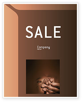 People: Baby Fingers Sale Poster Template #02409