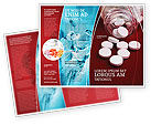 Medical: Pills From The Bottle Brochure Template #02414
