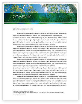 Nature & Environment: Forest Letterhead Template #02415