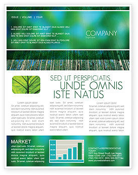 Nature & Environment: Forest Newsletter Template #02415