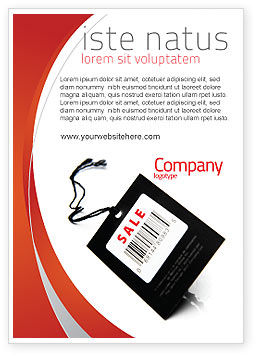 Business Concepts: Verkoop Advertentie Template #02419