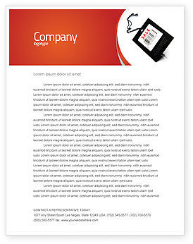 Business Concepts: Verkoop Briefpapier Template #02419