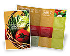 Food & Beverage: Plantilla de folleto - tienda de comestibles #02427