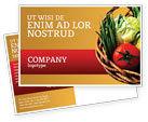 Food & Beverage: Grocery Postcard Template #02427