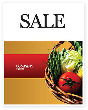 Grocery Sale Poster Template