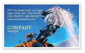 Utilities/Industrial: Plantilla de tarjeta de visita - cargando #02443