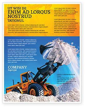 Utilities/Industrial: Loading Flyer Template #02443