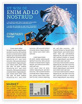 Utilities/Industrial: Modelo de Newsletter - carregando #02443