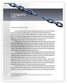 Business Concepts: Vulnerability Letterhead Template #02445