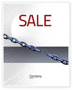 Vulnerability Sale Poster Template, 02445, Business Concepts — PoweredTemplate.com