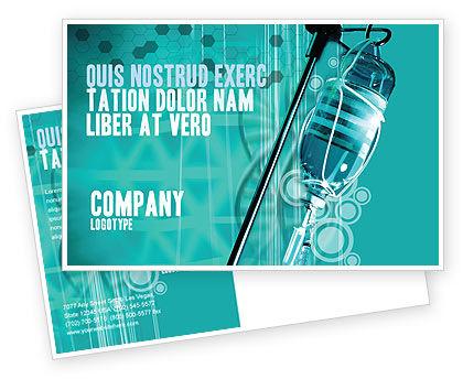 Medical: Modello Cartolina - Medicina contagocce #02448