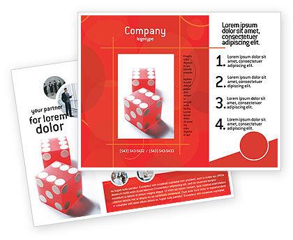 Business Concepts: Templat Brosur Keberuntungan #02450