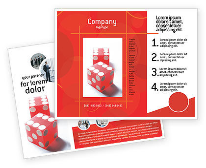 Business Concepts: Geluk Brochure Template #02450