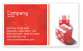 Business Concepts: Luck Business Card Template #02450