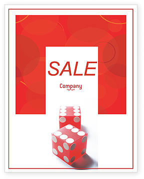 Business Concepts: Luck Sale Poster Template #02450