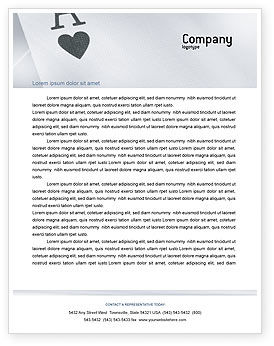 Art & Entertainment: Cards For Playing Letterhead Template #02457