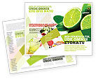 Food & Beverage: Modèle de Brochure de citron vert #02460