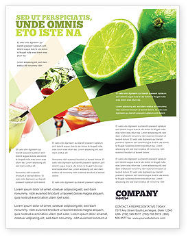 Lime Flyer Template