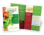 Food & Beverage: Burger Brochure Template #02463