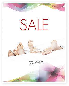 People: Modern Life Sale Poster Template #02485