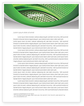 Abstract/Textures: Wire Mesh Letterhead Template #02492